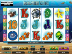 Dolphin King sloty77.com CryptoLogic 1/5